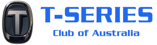 T-Series Club of Australia Retina Logo